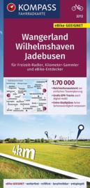 Fietskaart Wangerland - Wilhelmshaven - Jadebusen | Kompass 3312 | 1:70.000 | ISBN 9783990446638