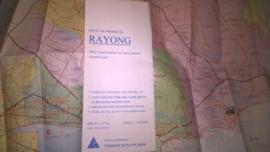 Wegenkaart Rayong - Centraal Thailand | Prannok Witthaya Maps | 1:165.000
