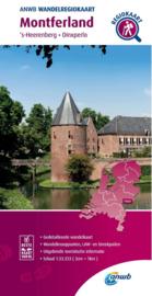 Wandelkaart  Montferland - Achterhoek zuid | ANWB | 1:33.333 | ISBN 9789018046484