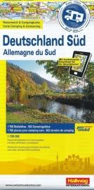 Wegenkaart - Camperkaart Duitsland zuid | Promobil | ISBN 9783905755725
