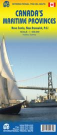 Wegenkaart Canada's Maritime Provinces | ITMB | 1:530.000 | ISBN 9781553410935