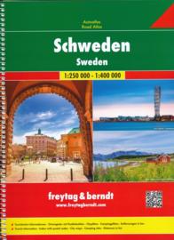 Wegenatlas Zweden | Freytag & Berndt Sweden Supertouring Road Atlas | ISBN 9783707917451