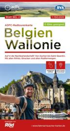 Fietskaart België - Wallonië | ADFC | 1:150.000 | ISBN 978969900017