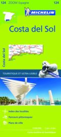 Wegenkaart Costa del Sol | Michelin 124 | 1:200.000  |  ISBN 9782067217911