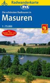 Fietskaart Mazuren - Masuren | ADFC regionalkarte | 1:75.000 | ISBN 9783870738143