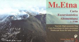 Wandelkaart  Monte Etna - Alcantara - Simeto | 1:50.000 | Editore Selca | ISBN 9788897002048