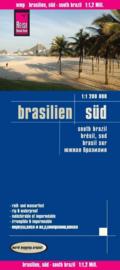 Wegenkaart zuid Brazilië - Brasilien Süd | Reise Know how | 1:1,2 miljoen | ISBN 9783831773855