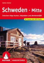 Wandelgids Zweden - Schweden Mitte | Rother Verlag | Wandelen in Midden Zweden | ISBN 9783763344062