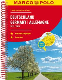 Wegenatlas Duitsland 2019/2020 | Marco Polo | ISBN 9783829737329