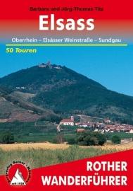 Wandelgids Elsass | Rother Verlag | ISBN 9783763343133