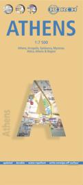 Stadskaart Athene | Borch | 1:7.500 | ISBN 9783866093416