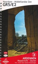 Wandelgids GR5 : Ardennen - van Maastricht naar Ouren | De Wandelende Cartograaf | ISBN 9789083086903