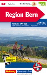Fietskaart Bern & Omgeving | Kümmerley & Frey nr. 09 | 1: 60.000 | ISBN 9783259024096