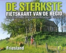 Fietskaart De sterkste fietskaart van de regio: Friesland   Buijten & Schipperheijn   1:50.000   ISBN 9789463690935