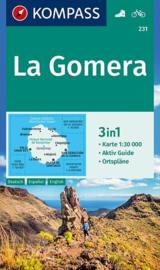 Wandelkaart La Gomera | Kompass 231 | 1:30.000 | ISBN 9783990444696