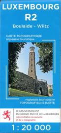 Wandelkaart Boulaide / Wiltz | Topografische dienst Luxembourg 02 | ISBN 5425013060400