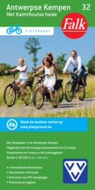Fietskaart Antwerpse Kempen met Kalmhoutse Heide 32 | Falk | ISBN 9789028727861