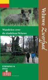 Wandelgids Veluwe Zwerfpad | LAW - NIVON - Streekpad 16 |  ISBN 9789491142079