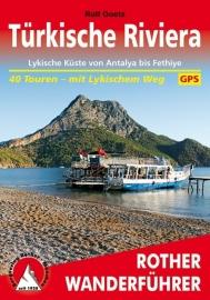 Wandelgids Türkische Riviera | Rother Verlag | Lykische Küste-Antalya Fethiye | ISBN 9783763343744