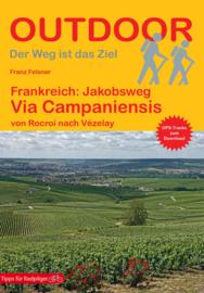Wandelgids Via Campaniensis - Jacobsweg | Conrad Stein Verlag | ISBN 9783866866843