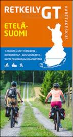 Fiets- Wegenkaart Etelä-Suomi GT 1 - Zuid Finland | Karttakeskus | 1:250.000 | ISBN 9789522665379