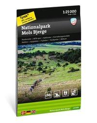 Wandelkaart Nationalpark Mols Bjerge | Calazo Outdoormaps Serie - Calazo Förlag Dänemark | 1:25.000 | ISBN 9789188779762