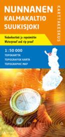Wandelkaart Nunnanen Kalmakaltio Suukisjoki | Karttakeskus No.3 | 1:50.000 | ISBN 9789522664846