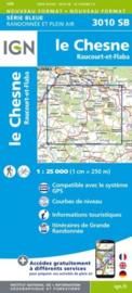 Topo-, Wandelkaart Le Chesne / Raucourt-et-Flaba | IGN 3010SB | 1:25.000 | ISBN 9782758541677