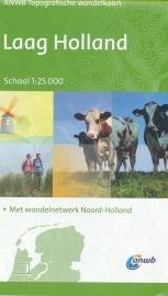 Wandelkaart Laag Holland - Topografisch | ANWB | 1:25.000 | ISBN 9789018040383