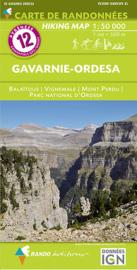 Wandelkaart Pyreneeën  Gavarnie - Ordesa | Rando 12 | 1:50.000 | ISBN 9782344026663