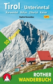 Wandelgids Rother Tirol - Unterinntal | Karwendel · Rofan · Tuxer - Zillertal · Kaiser | Rother Verlag | ISBN 9783763330607