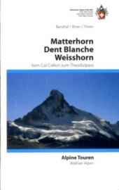 Klimgids Matterhorn/Dent Blanche/Weisshorn | SAC - Schweizer Alpen Club | ISBN 9783859022973