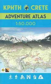 Wegenatlas Kreta | Anavasi - Adventure Atlas Crete | 1:50.000 | ISBN 9789609412704