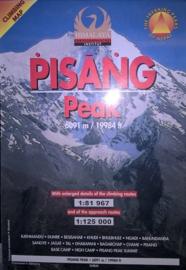 Wandelkaart / Klimkaart Pisang Peak 6091 meter | Nepa Maps | 1:81.967 / 1:125.000 | 9799993323043