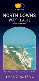 Wandelkaart The North Downs way east | Harvey | 1:40.000 | ISBN 9781851373796