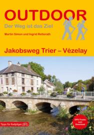 Wandelgids Jakobsweg Trier - Vézelay - Jacobspad | Conrad Stein Verlag | ISBN 9783866866881