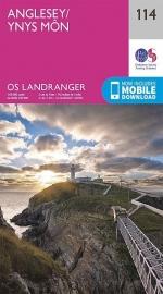 Wandelkaart Ordnance Survey | Anglesey & Mon 114 | ISBN 9780319262122
