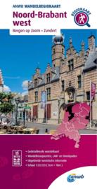 Wandelkaart Noord Brabant West | ANWB | 1:33.333 | ISBN 9789018046668