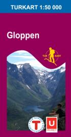 Wandelkaart Gloppen 2730 | Nordeca | 1:50.000 | ISBN 7046660027301