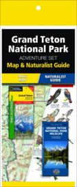 Natuurgids - Topografische kaart - Wandelkaart Grand Teton NationL Park | National Geographic Adventure Set  | ISBN 9781583559116