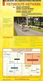 Sportoena fietskaart 7 Limburg Noord Fietsroute Netwerk | 9789078976295