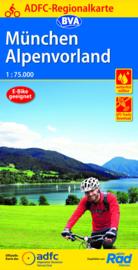 Fietskaart  München Alpenvorland | ADFC - BVA Regionalkarte | 1:75.000 | ISBN 9783870739720