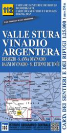 Wandelkaart Valle Stura - Vinadio | IGC nr.112 | 1:25.000 - ISBN 9788896455425