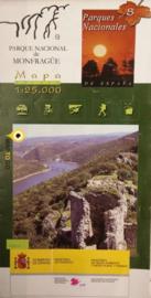 Wandelkaart Parque Nacional de Monfrague Montfrague, Extremadura   CNIG 8   ISBN 9788441609990