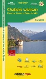 Wandelkaart Chablais Valaisan | Edition mpa | 1:25.000 | ISBN 9783905706598