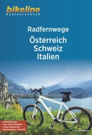 Fietsgids Oostenrijk, Zwitserland en Italië | Bikeline | ISBN 9783850009713