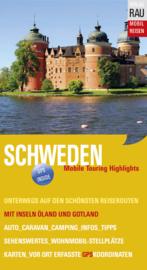 Campergids  Zweden - Mit dem Wohnmobil nach Schweden  | Werner Rau Verlag | ISBN 9783926145741