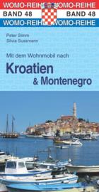 Campergids Mit dem Wohnmobil nach Kroatien & Montenegro   WOMO 48   ISBN 9783869034874
