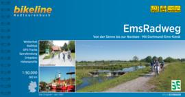 Fietsgids EmsRadweg  - 382 km. | Bikeline | ISBN 9783850008716