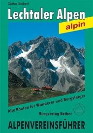 Wandelgids Lechtaler Alpen Alpin AVF | Rother Verlag | ISBN 9783763312689